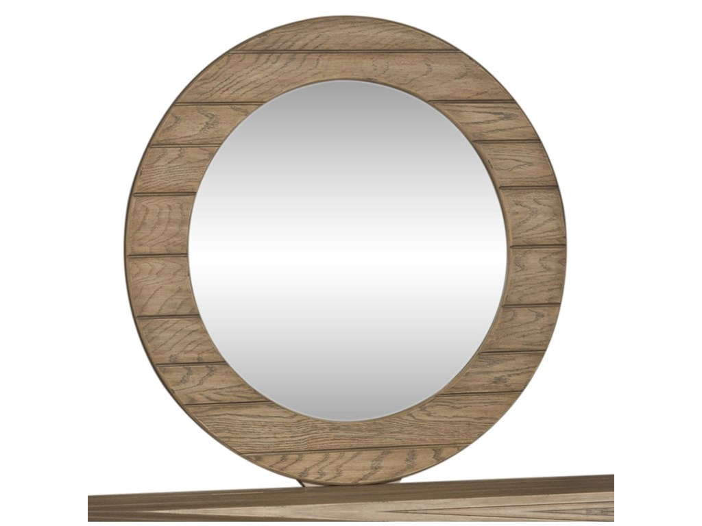Liberty Furniture HeartlandRound Mirror