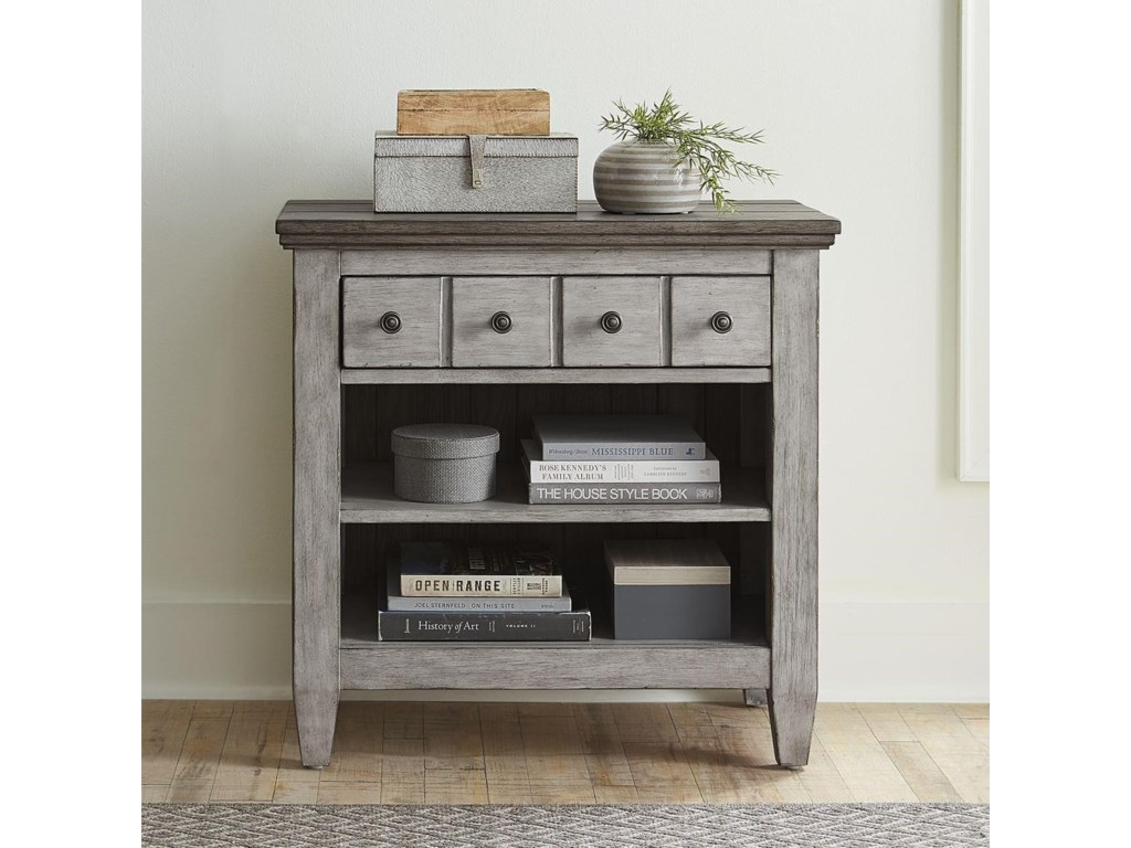 Liberty Furniture Heartland Transitional 1 Drawer Nightstand With