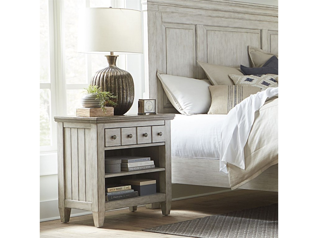 Vendor 5349 Heartland1 Drawer Nightstand with Charging Station