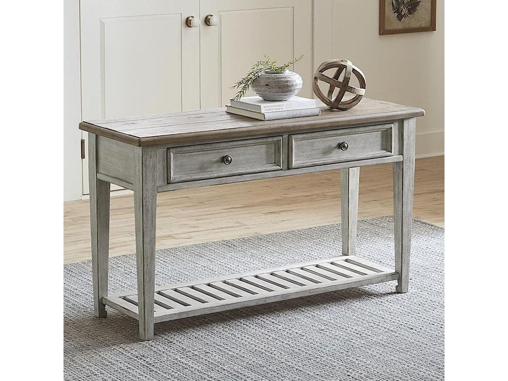 Liberty Furniture Heartland2 Drawer Sofa Table