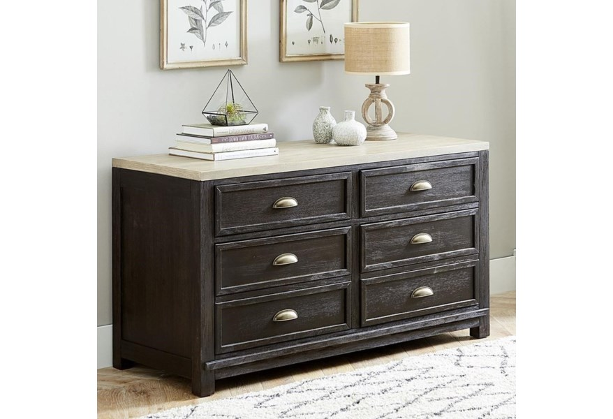 Liberty Furniture Heatherbrook 422 Ho120 Transitional 4 Drawer Office Credenza With File Storage Pilgrim Furniture City Storage Credenzas