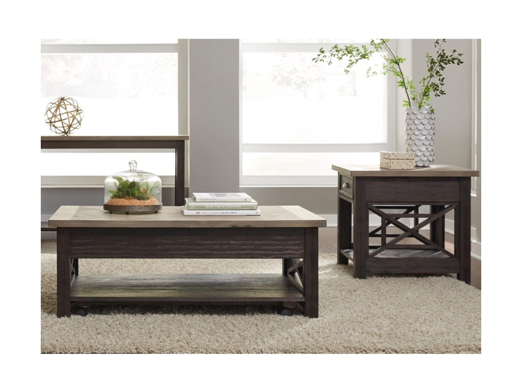 Liberty Furniture Heatherbrook Occasional3 Piece Occasional Group