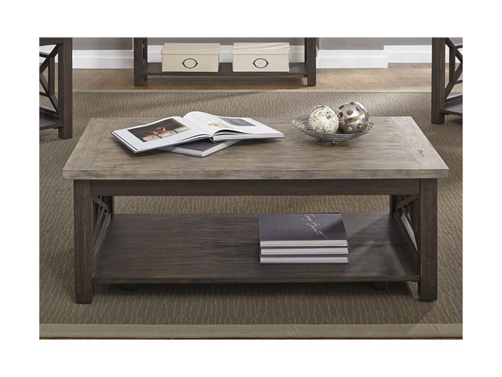Liberty Furniture Heatherbrook OccasionalCocktail Table