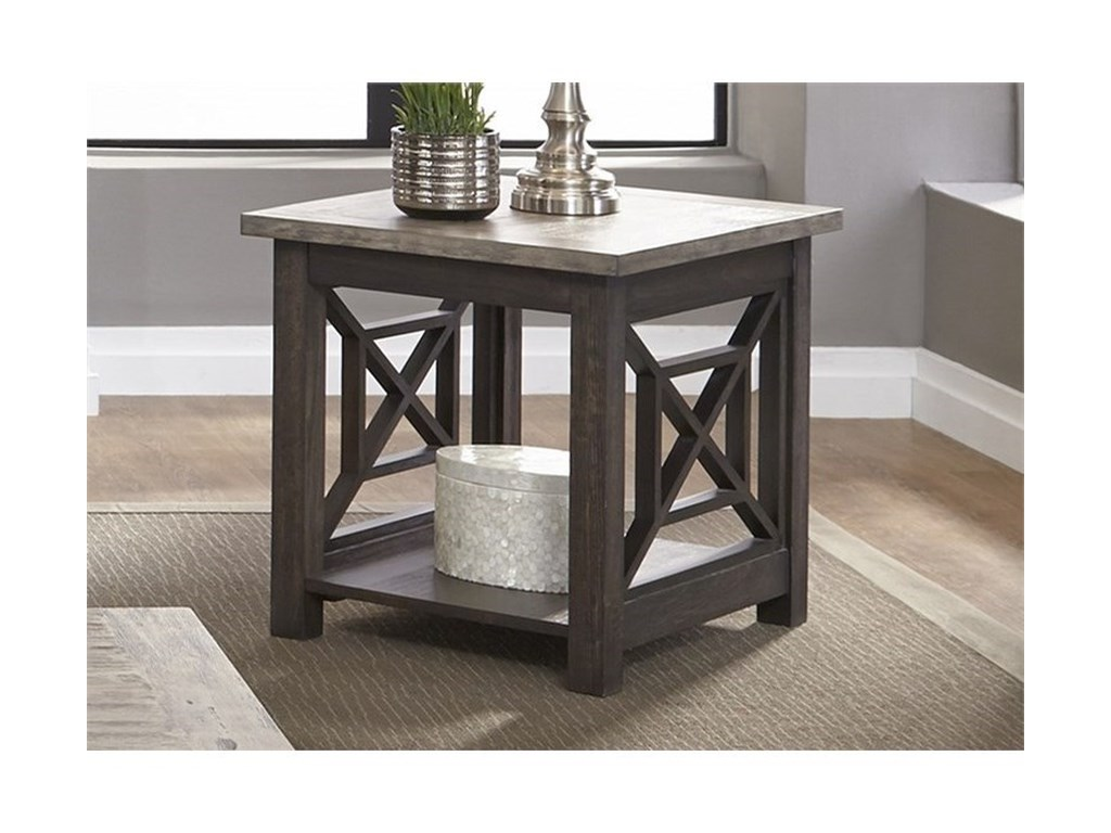 Liberty Furniture Heatherbrook OccasionalEnd Table