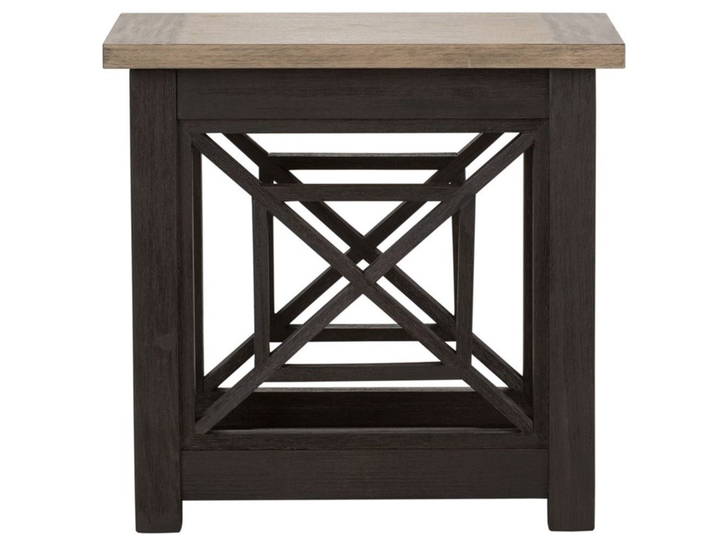 Liberty Furniture HeatherbrookChair Side Table