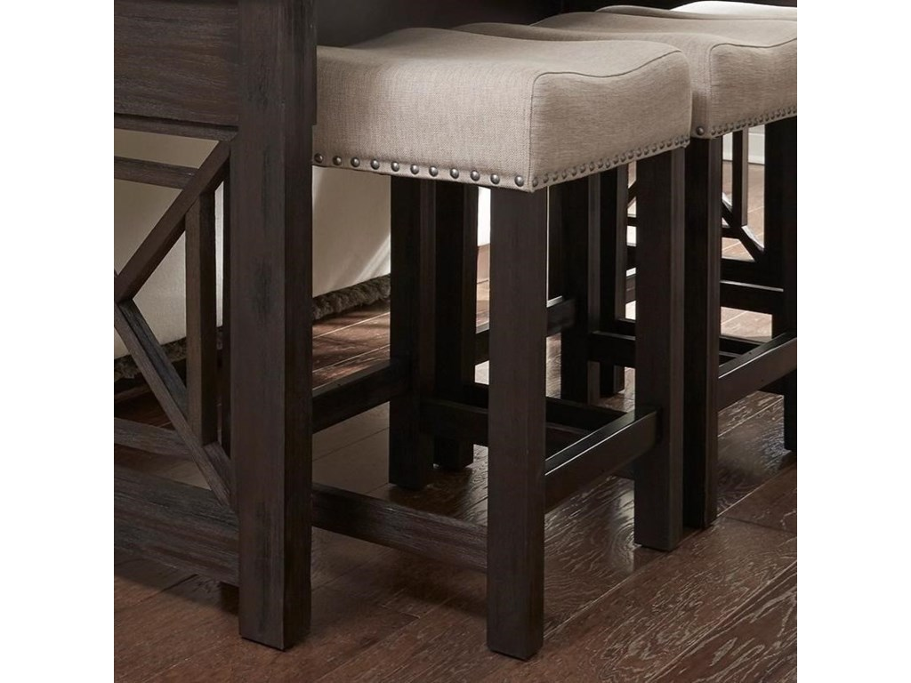 Liberty Furniture Heatherbrook OccasionalUph Barstool