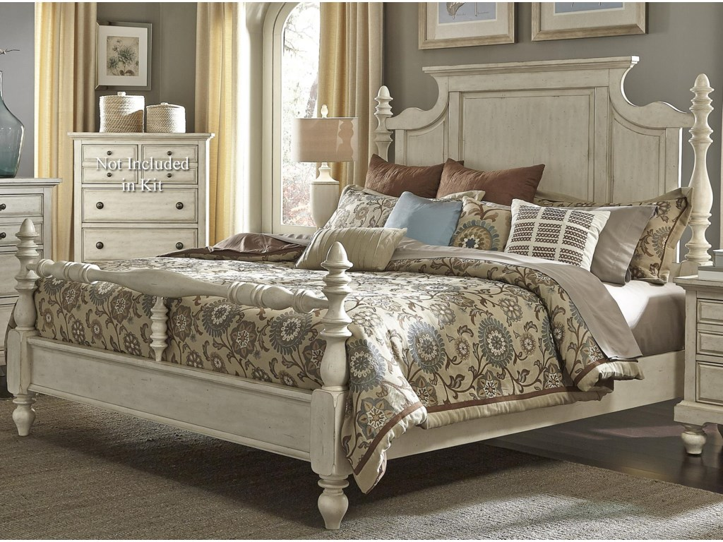 Liberty Furniture 697-BRKing Poster Bed