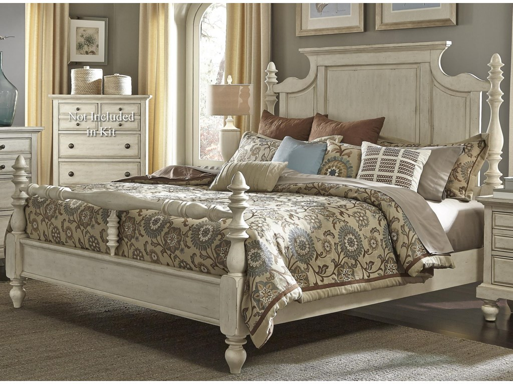 Liberty Furniture 697-BRQueen Poster Bed