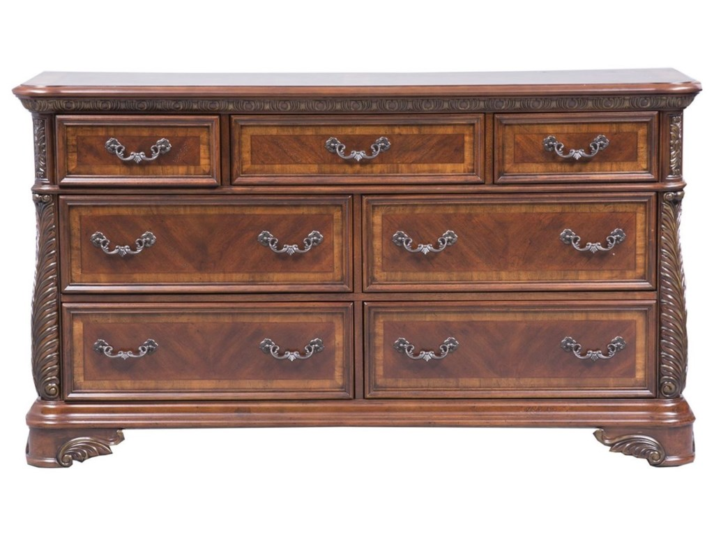 Liberty Furniture Highland Court7 Drawer Dresser