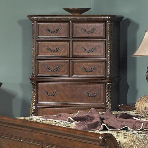 Liberty Furniture Highland Court Five Drawer Dressing Chest