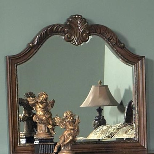 Liberty Furniture Highland Court Dresser Mirror Arched Top
