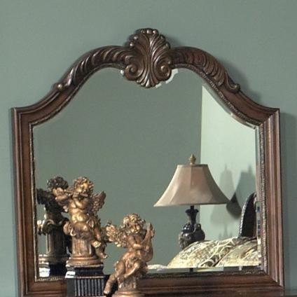 Liberty Furniture Highland Court Dresser Mirror Arched Top