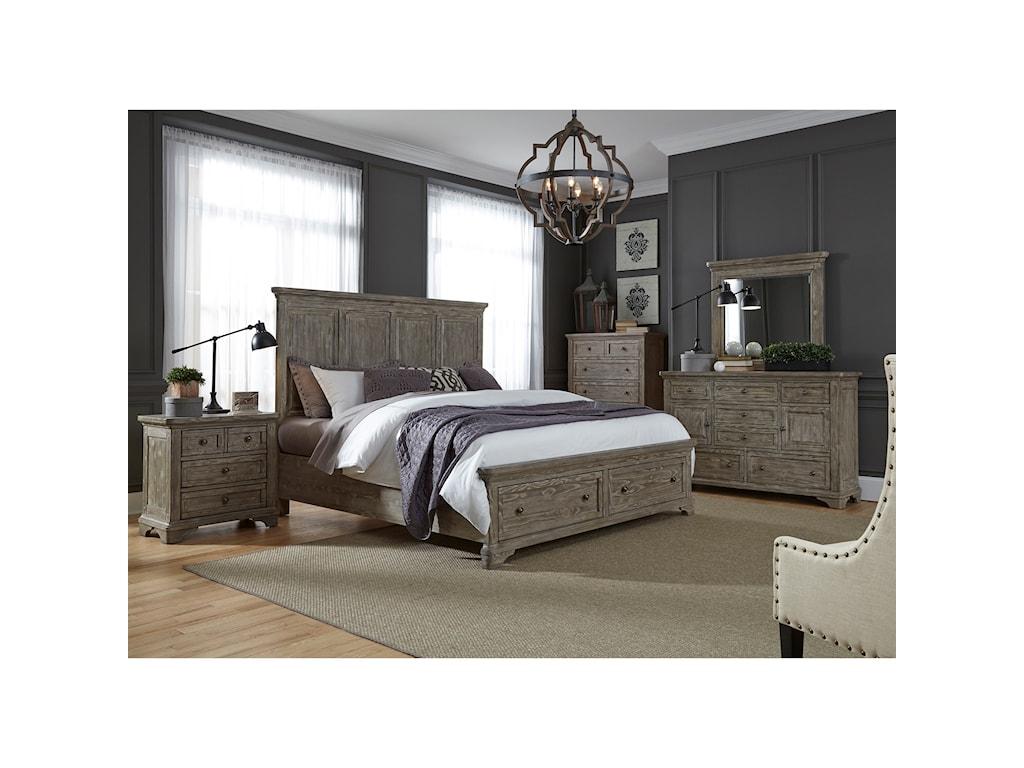Liberty Furniture HighlandsQueen Bedroom Group
