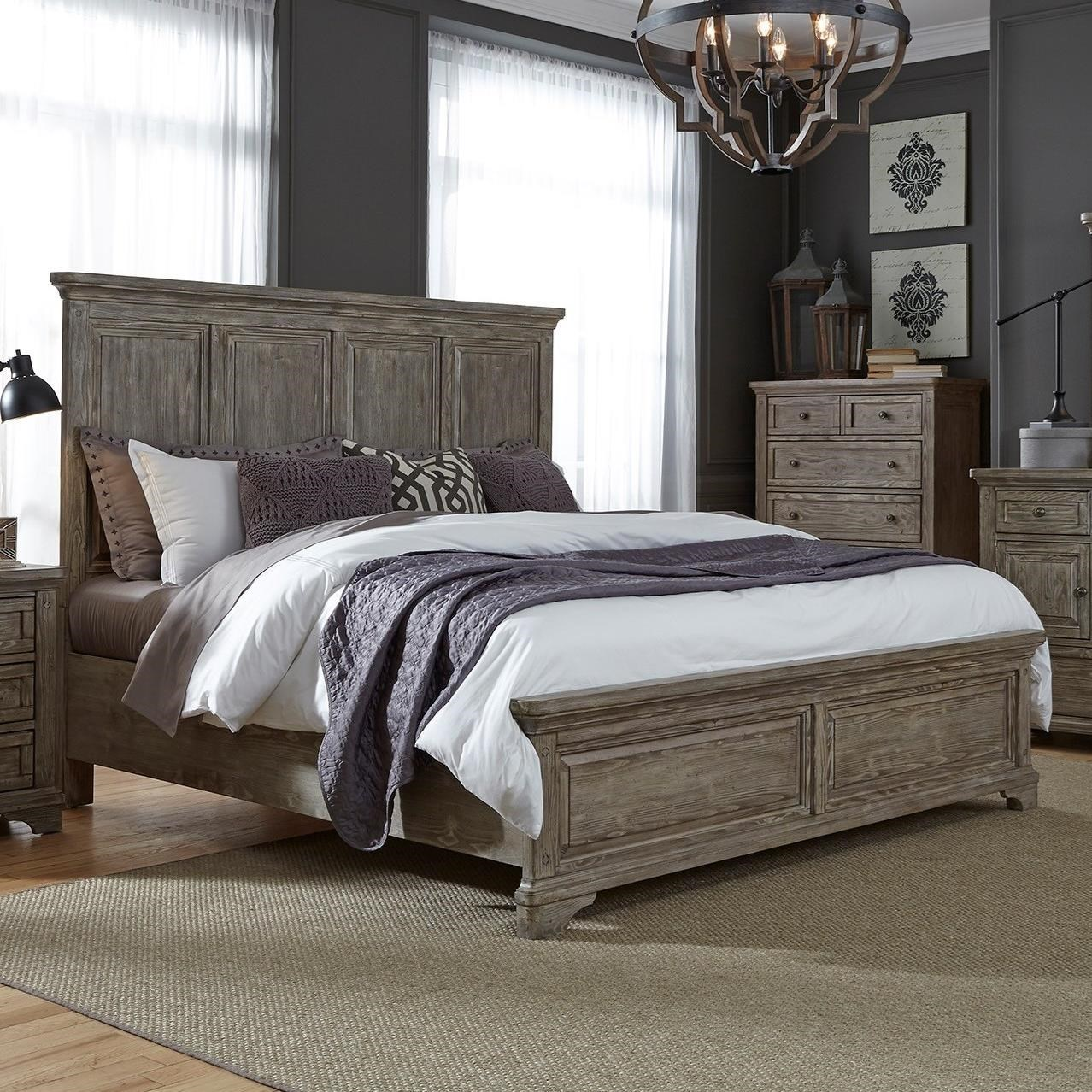 Superieur Liberty Furniture HighlandsKing Panel Bed