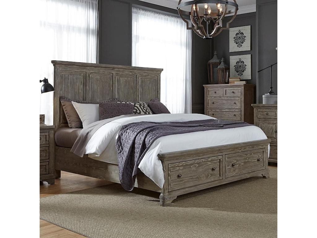 Liberty Furniture HighlandsKing Storage Bed