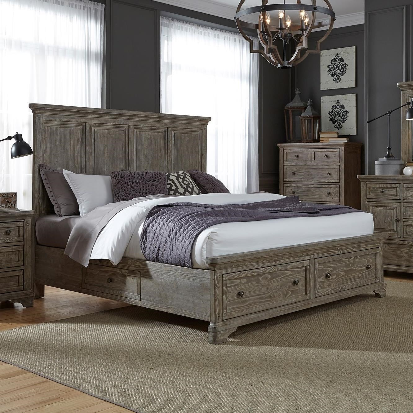 Superieur Liberty Furniture Highlands Queen Two Sided Storage Bed