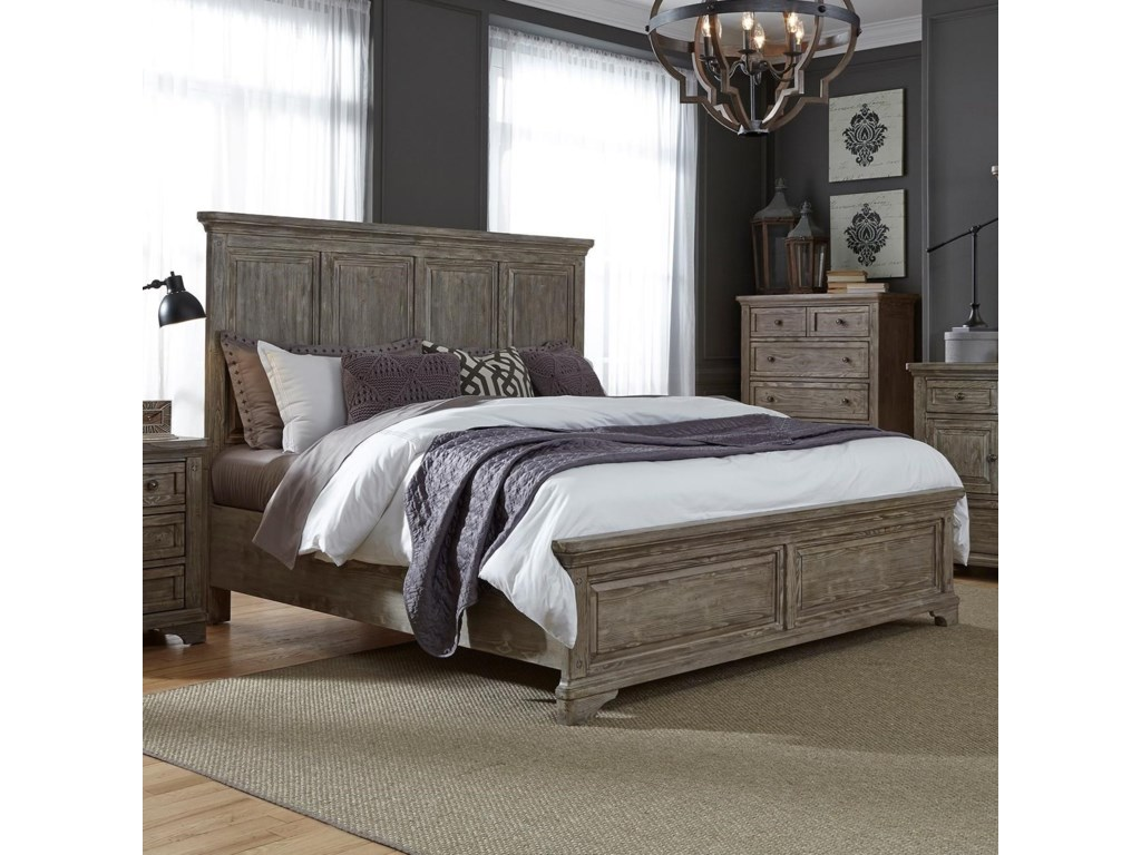 Liberty Furniture HighlandsQueen Panel Bed