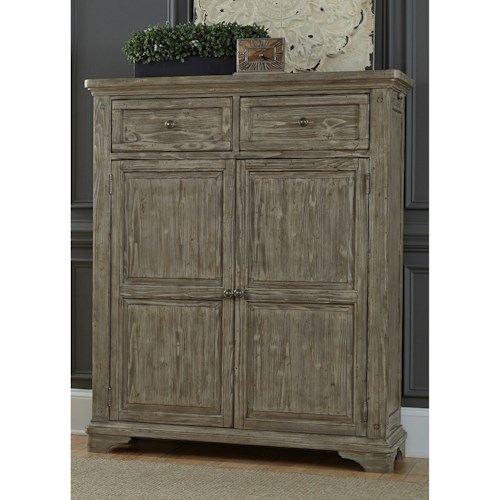 Liberty Furniture Highlands Door Chest with 2 Drawers