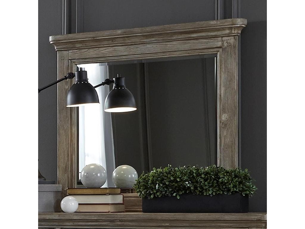 Liberty Furniture HighlandsMirror with Wood Frame