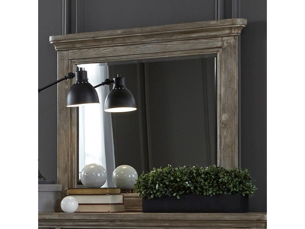 Liberty Furniture HighlandsMirror with Wood Frame