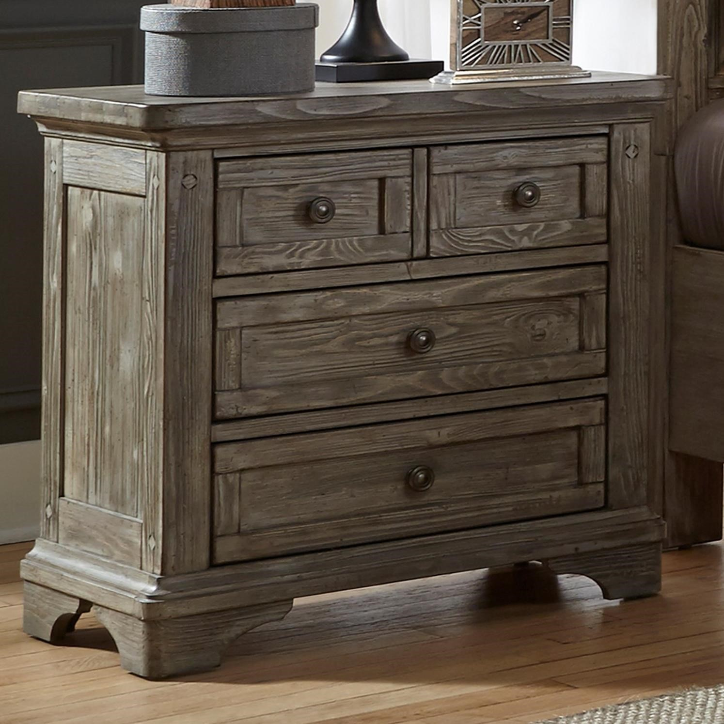 Merveilleux Liberty Furniture Highlands Night Stand With 3 Dovetail Drawers