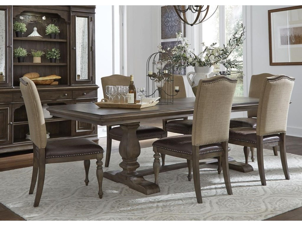 Liberty Furniture Homestead7-Piece Table and Chair Set