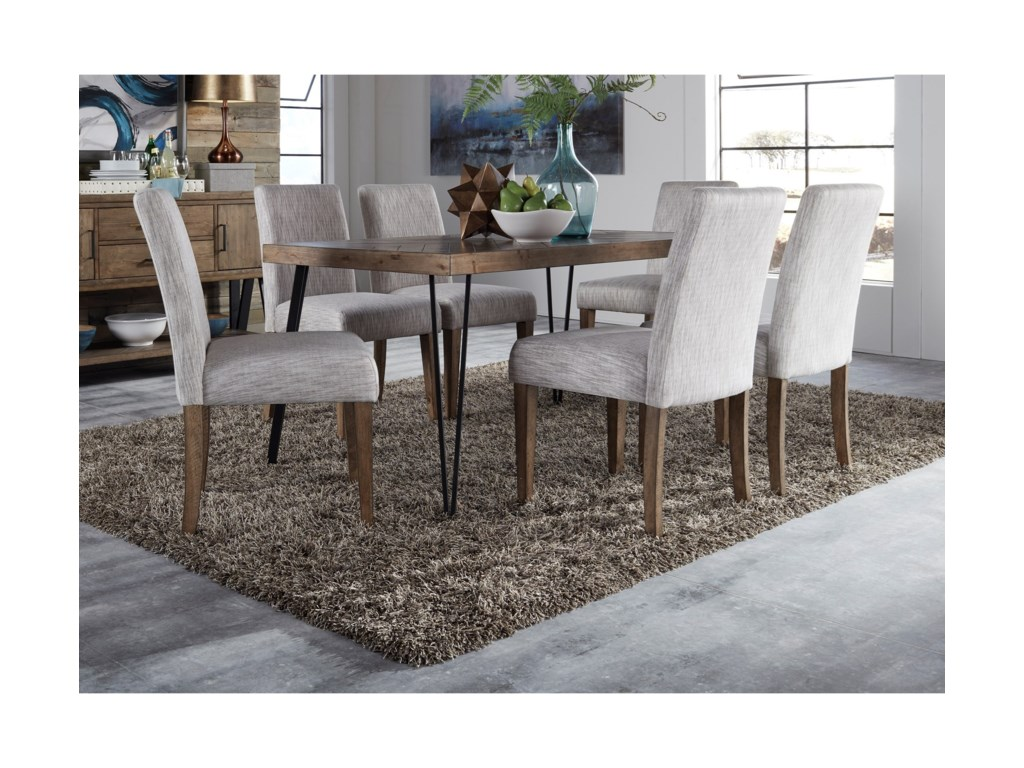 Liberty Furniture HorizonsTable and Upholstered Chair Set
