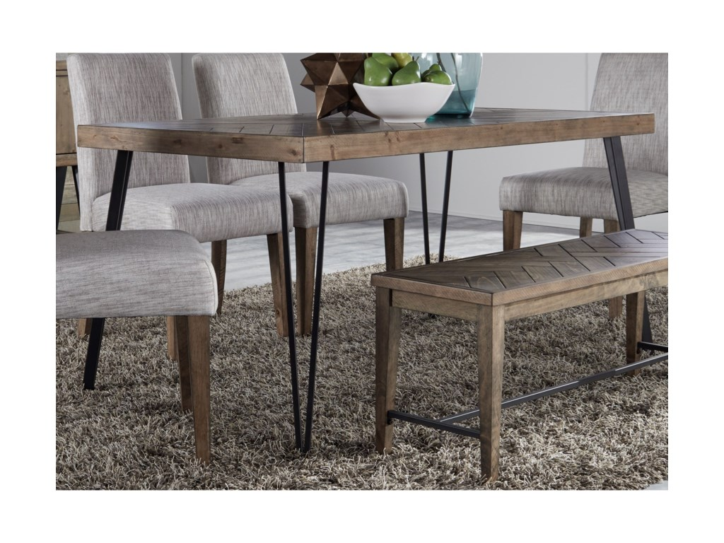 Horizons Rectangular Leg Dining Table
