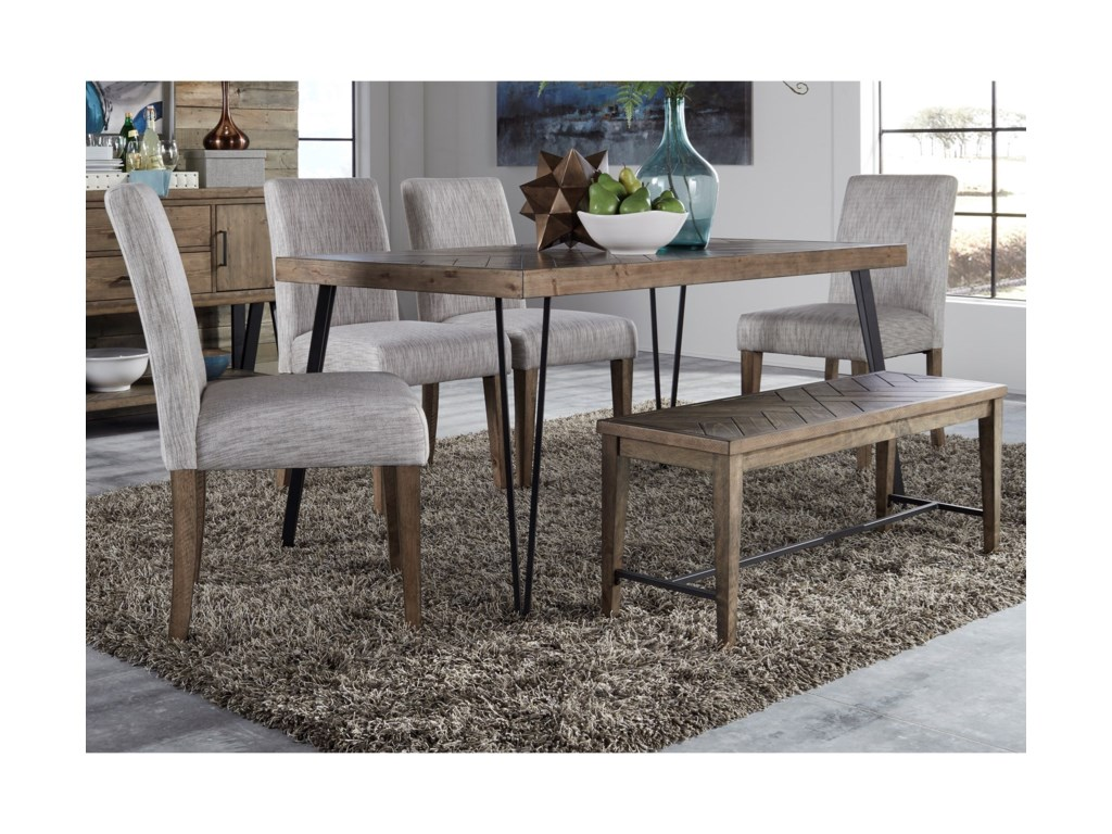 Liberty Furniture HorizonsRectangular Leg Dining Table