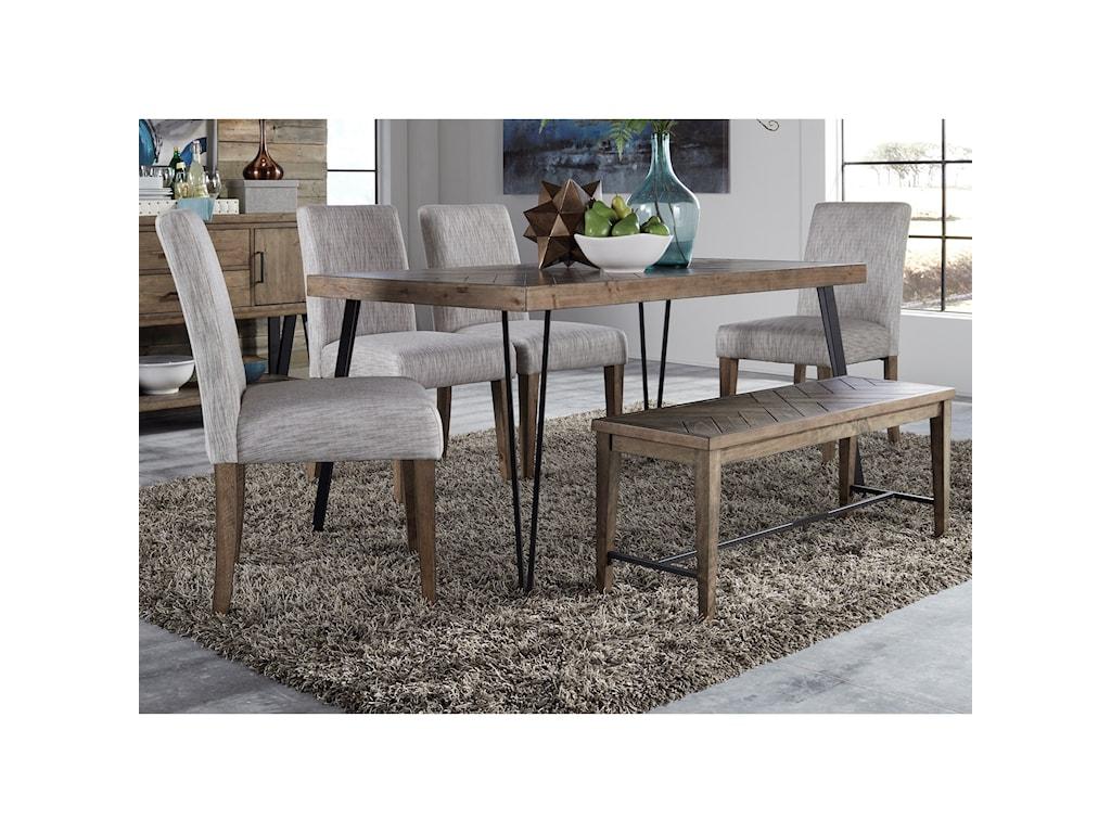 Liberty Furniture HorizonsRectangular Leg Dining Table