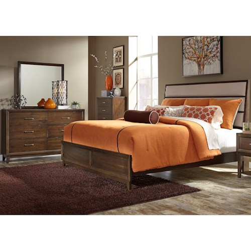 Liberty Furniture Hudson Square Bedroom King Bedroom Group