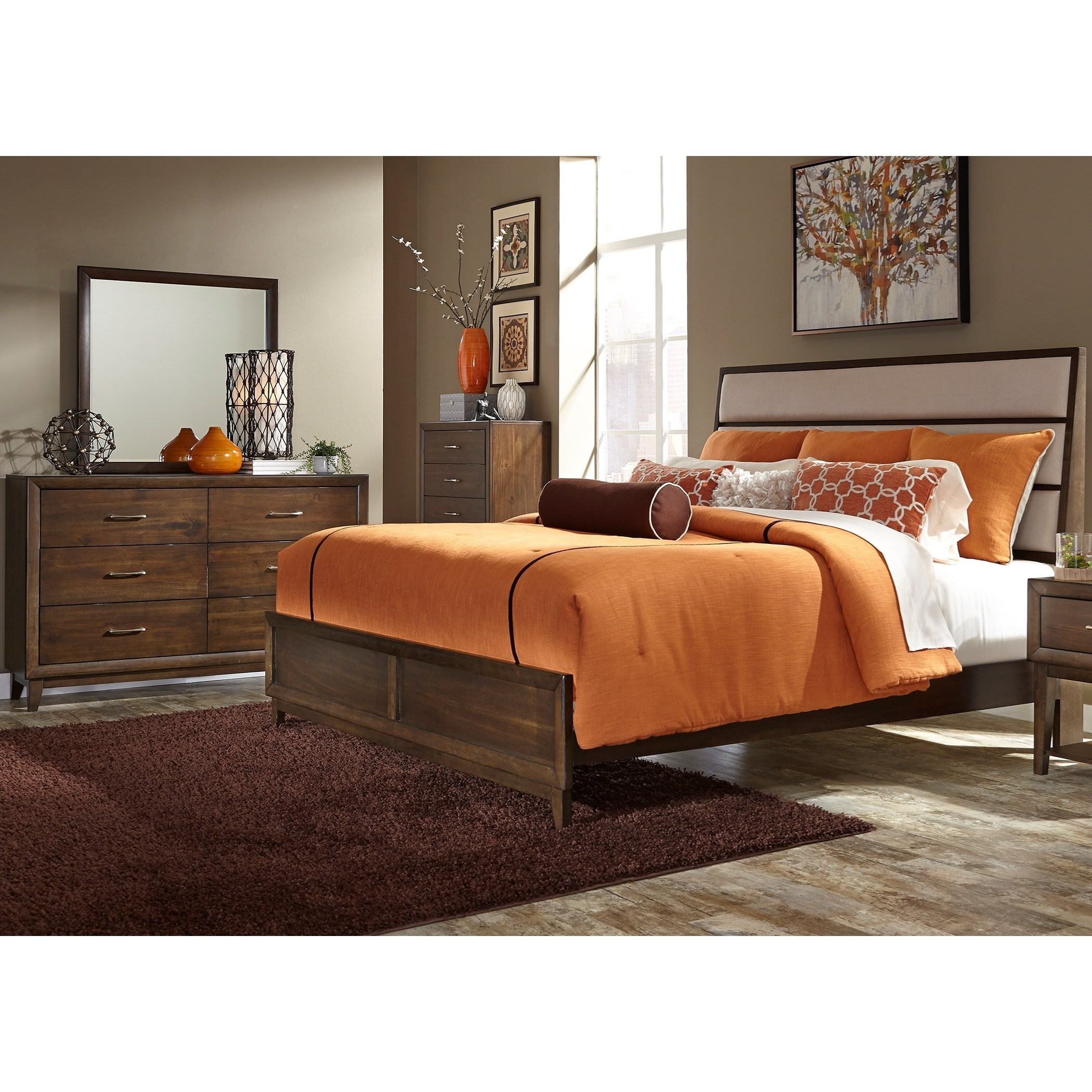 Great Hudson Square Bedroom King Bedroom Group By Liberty Furniture