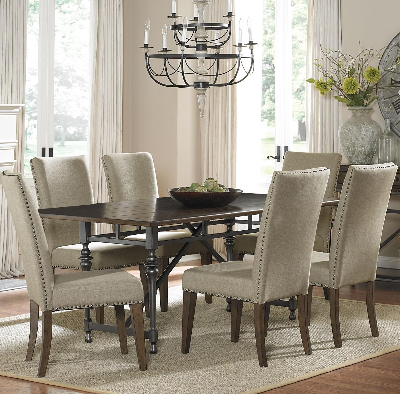 liberty furniture ivy park 7 piece dining table and