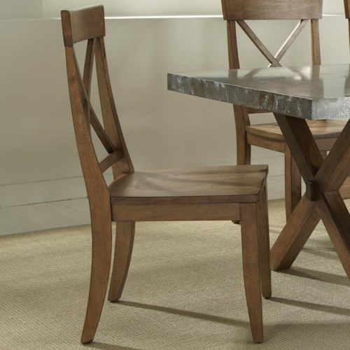 Liberty Furniture Keaton X-Back Dining Side Chair