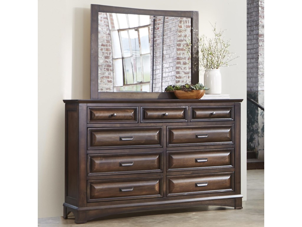 Liberty Furniture KnollwoodDresser and Mirror