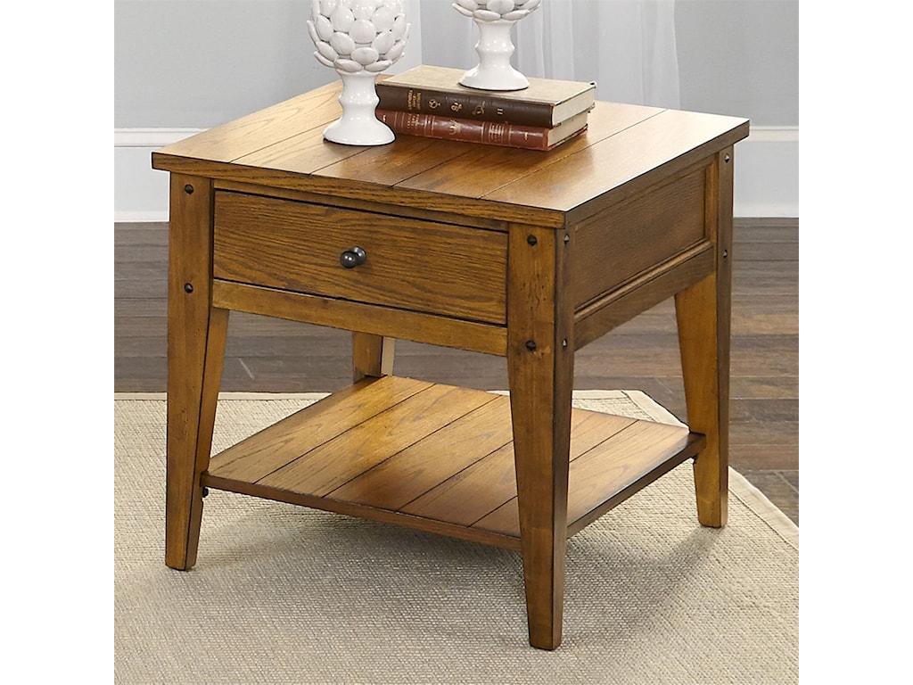 Liberty Furniture Lake HouseEnd Table