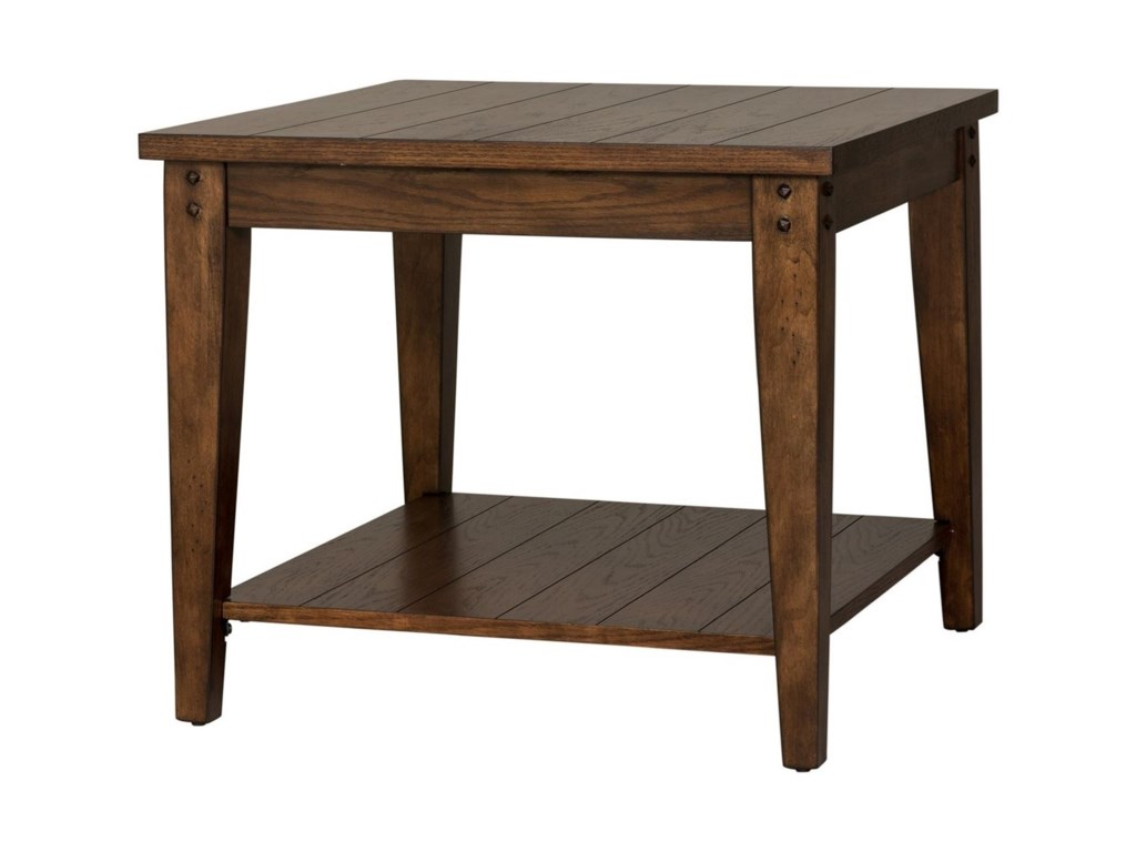 Liberty Furniture Lake HouseSquare Lamp Table