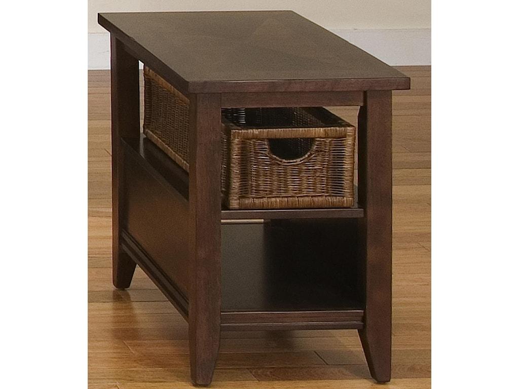 Liberty Furniture LakewoodBasket End Table