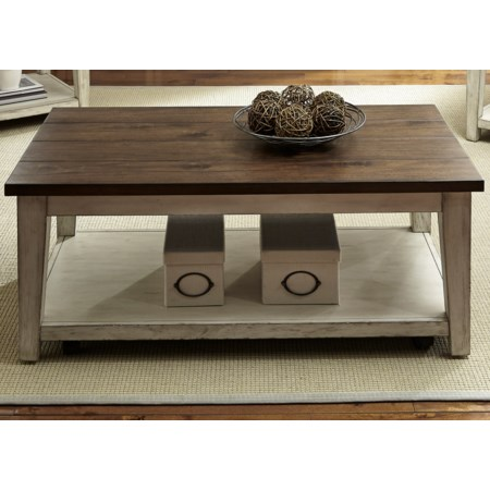 Castered Cocktail Table