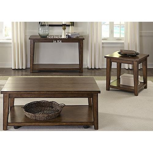 Liberty Furniture Lancaster 3 Piece Occasional Table Set