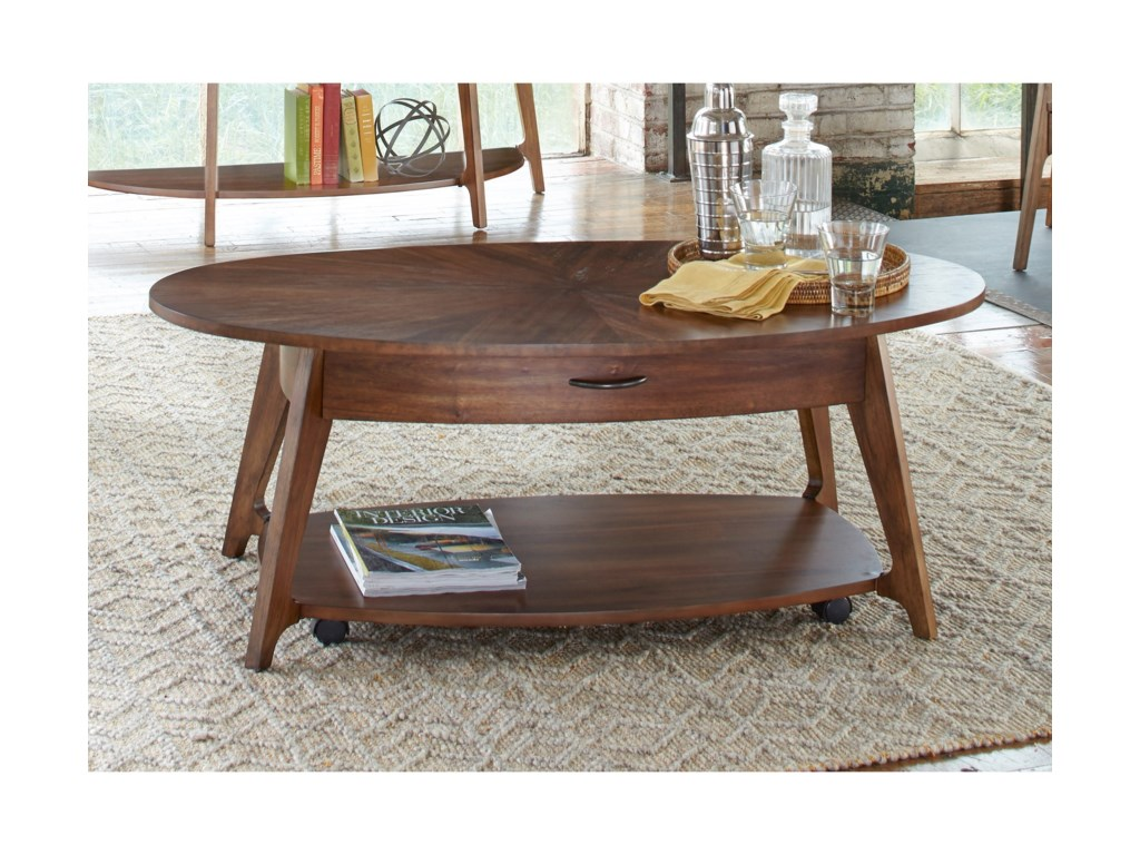 Liberty Furniture Landon OccasionalOval Cocktail Table
