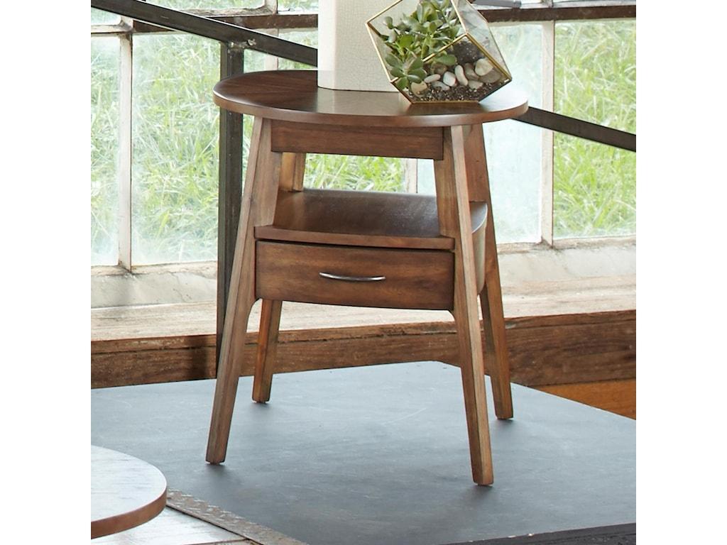 Liberty Furniture Landon OccasionalOval End Table