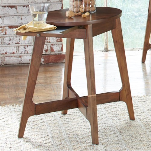 Liberty Furniture Landon Occasional Chair Side Table with Tray