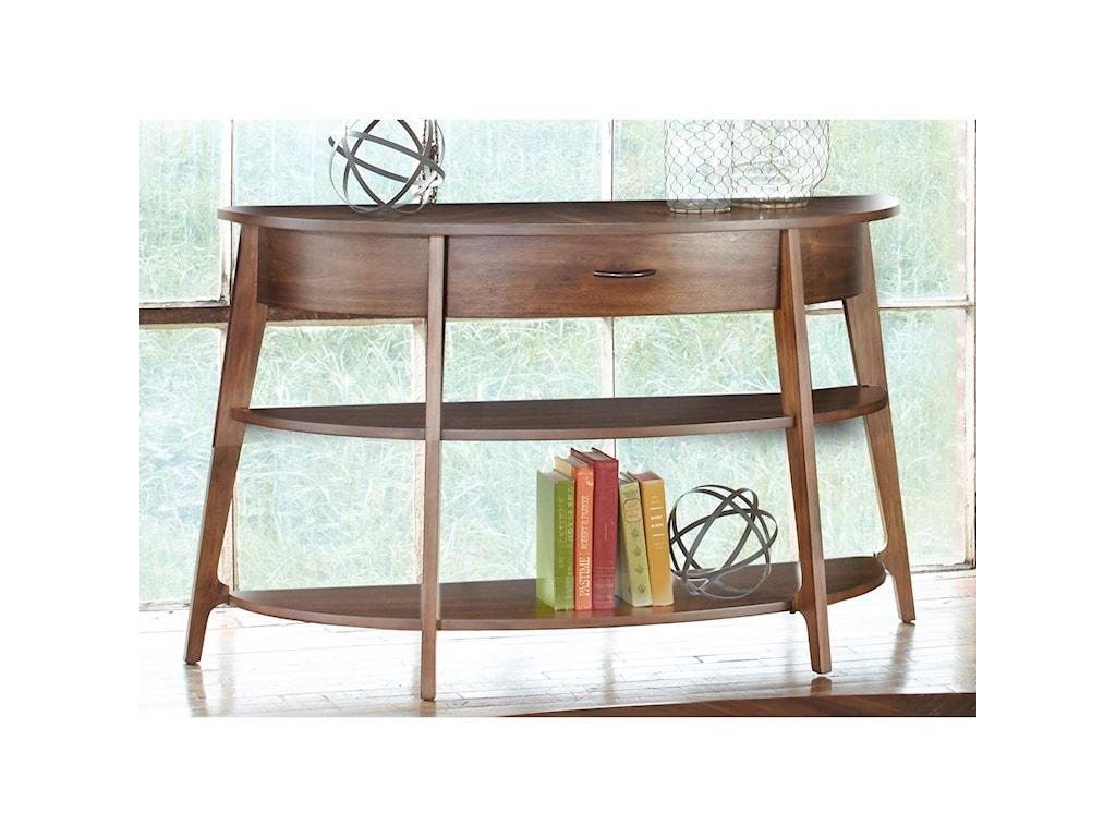 Liberty Furniture Landon OccasionalDemi-Lune Sofa Table
