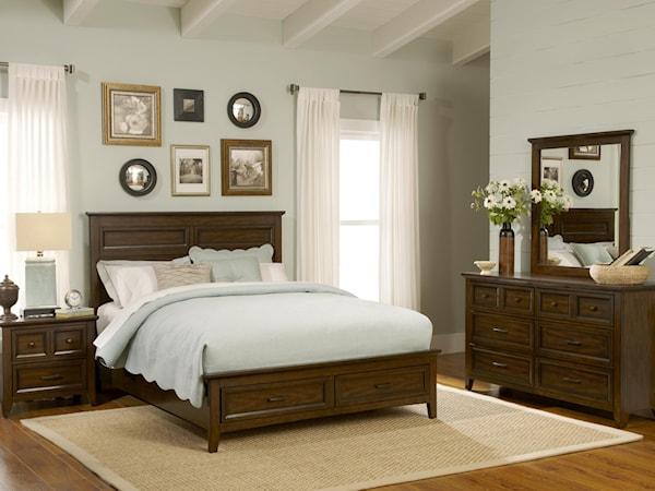 Queen Bedroom Group 4
