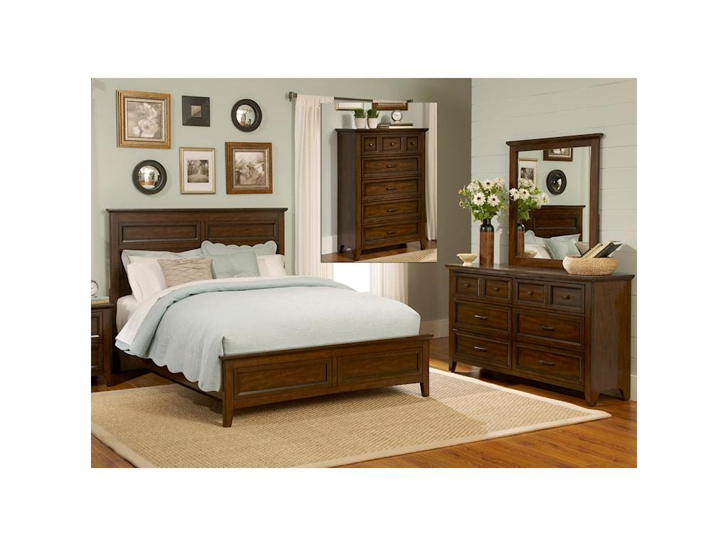 Liberty Furniture Laurel CreekKing Bedroom Group