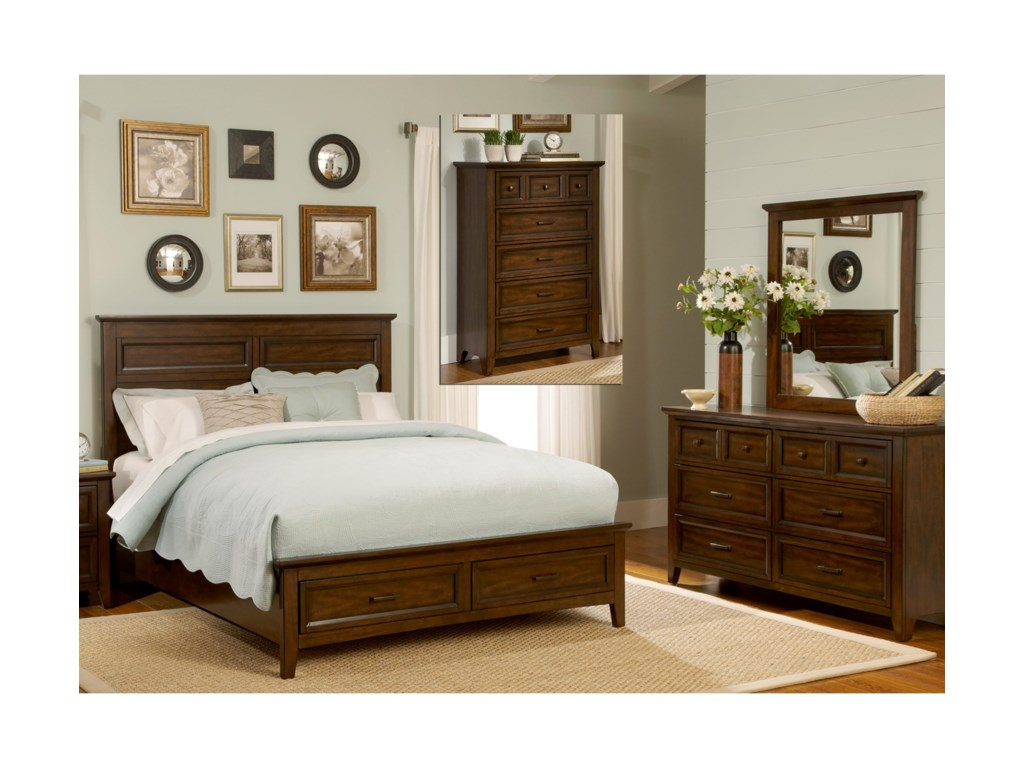 Liberty Furniture Laurel CreekKing Bedroom Group