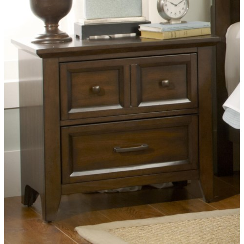 Liberty Furniture Laurel Creek 2-Drawer Night Stand