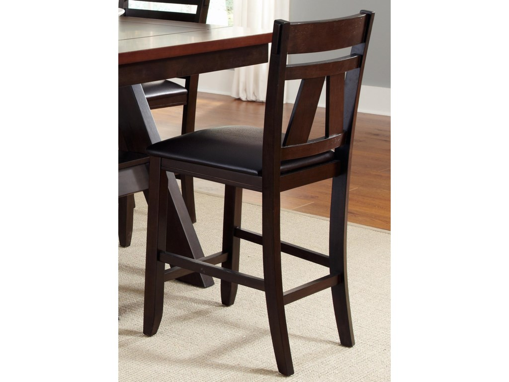 Liberty Furniture CityScapeSplat Back Counter Chair