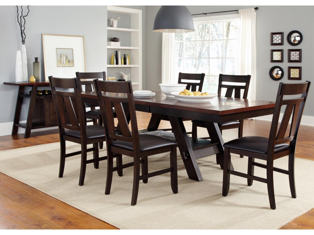 Liberty Furniture LawsonSplat Back Side Chair (RTA)